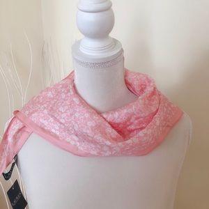 Ralph Lauren Pink Silk Scarf